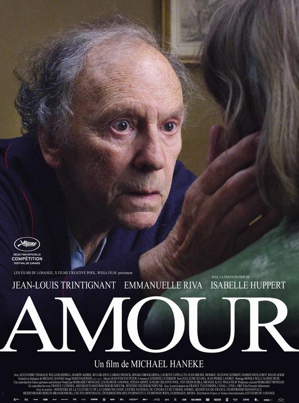 Resultado de imagem para Amour (Amor) PALMA DE OURO