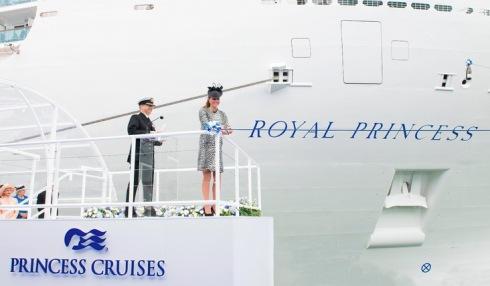 inauguração Royal Princess1
