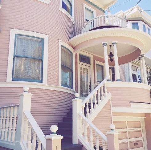 Casas rosa - 3
