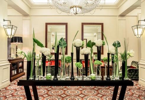 sofitel_Scribe_paris_lobby flowers
