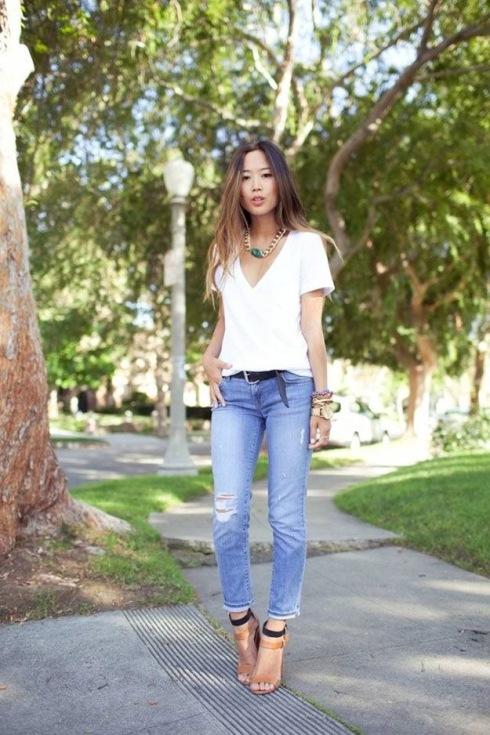 Camisetas brancas - 15